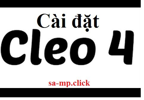 Cach cai dat CLEO4